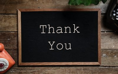 The Power of 'Thank you'.